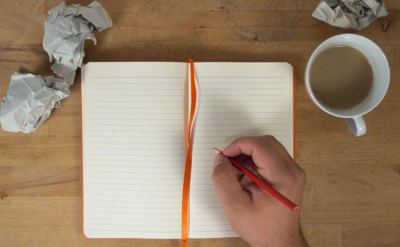 از رنج نوشتن